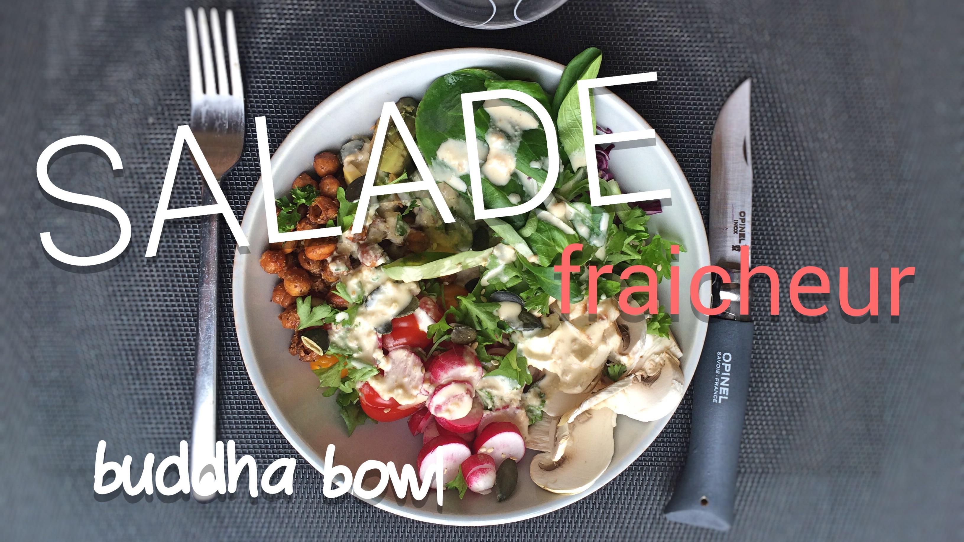 salade buddha bowl