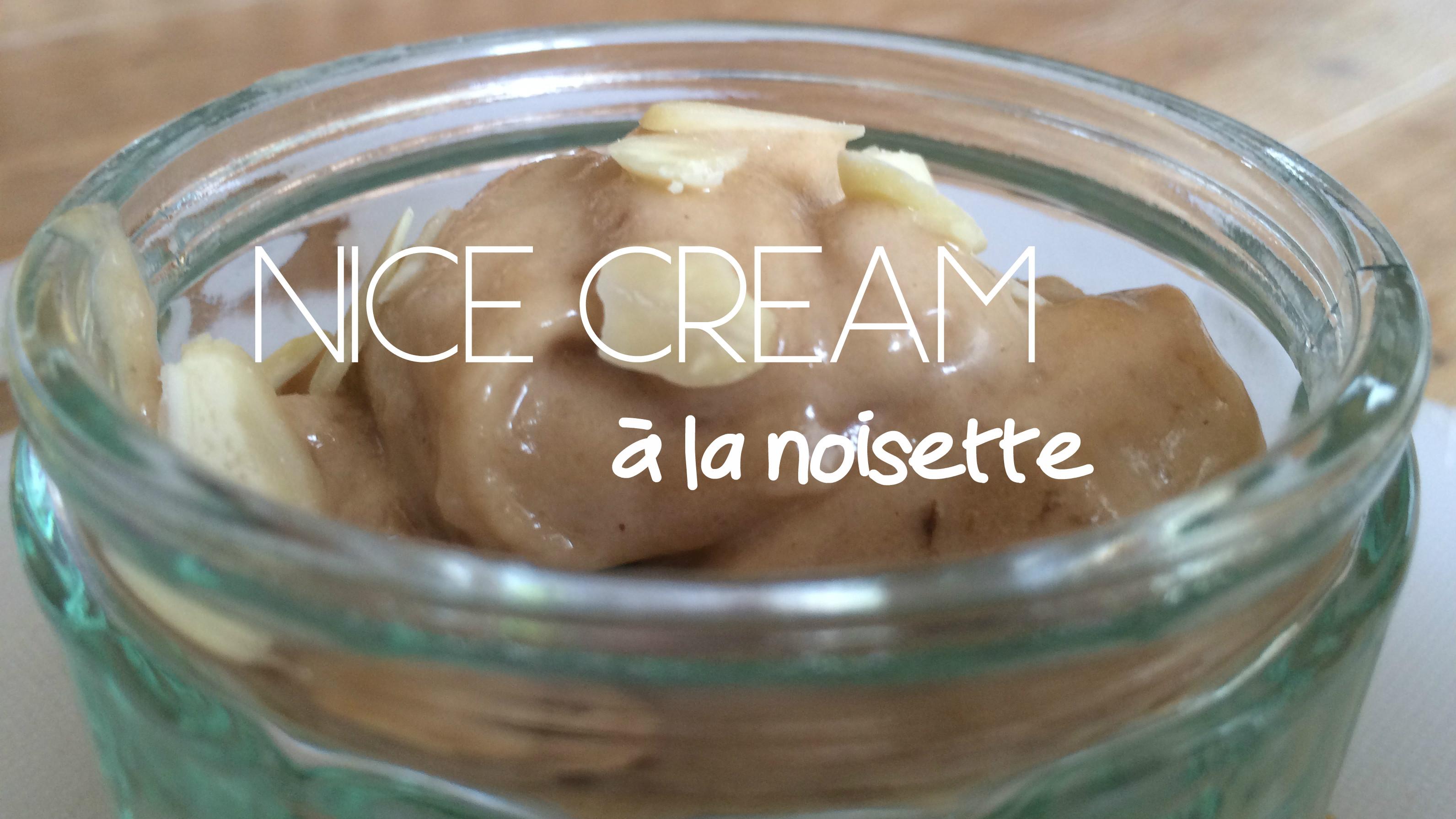 nice cream à la noisette