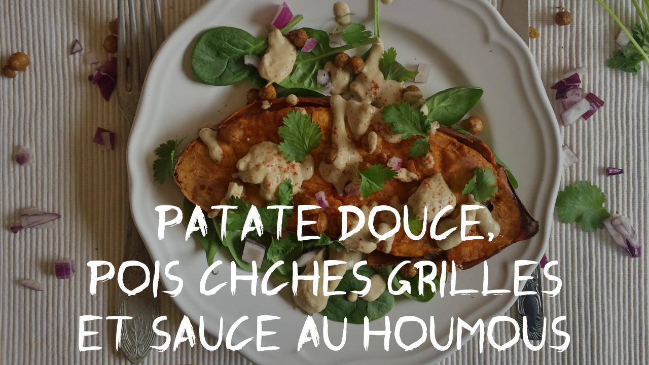 patate douce au four