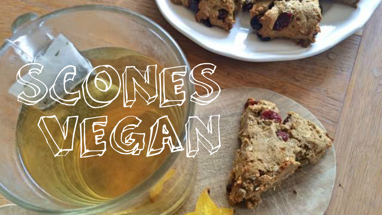 scones vegan