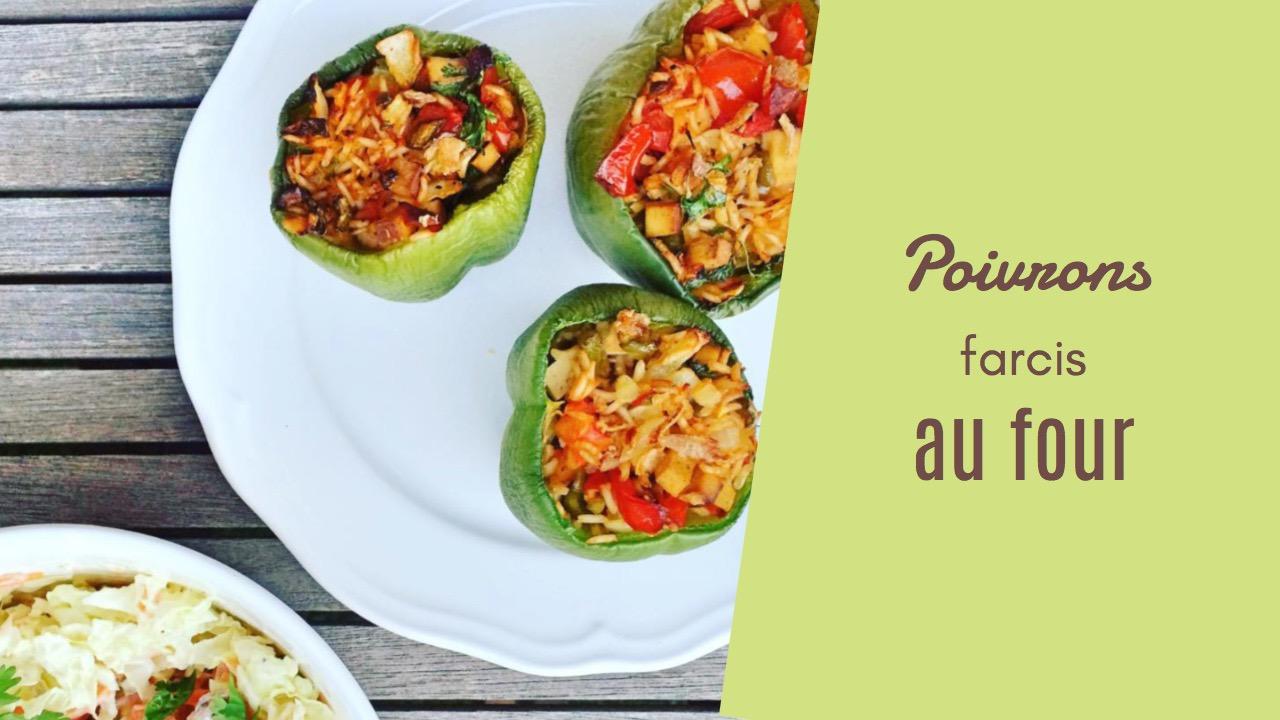 poivrons farcis - recettes végétariennes et vegan - atirelarigot
