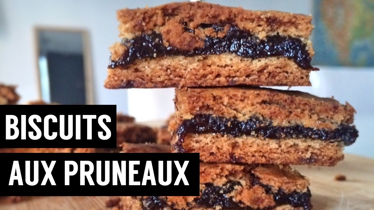 biscuits aux pruneaux - recettes végétariennes et vegan - atirelarigot