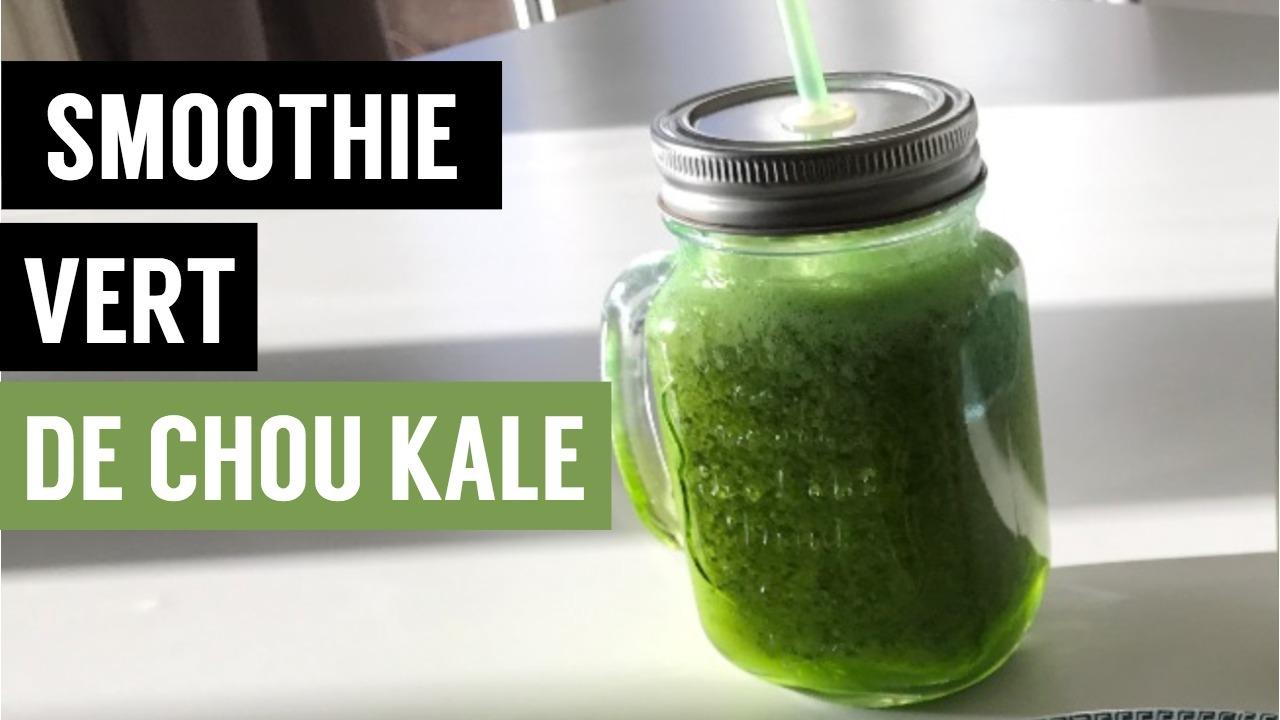 smoothie kale - recettes végétariennes et vegan - atirelarigot