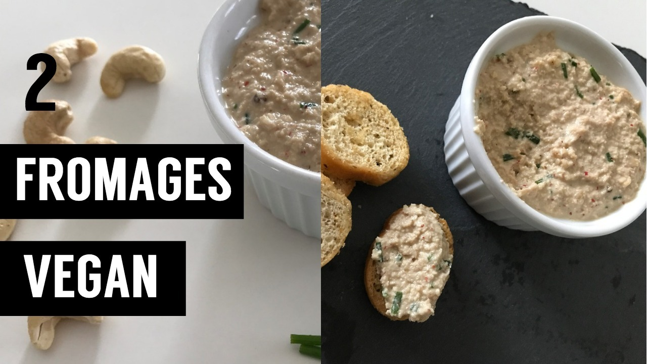 2 fromages vegan - recettes végétariennes et vegan - atirelarigot