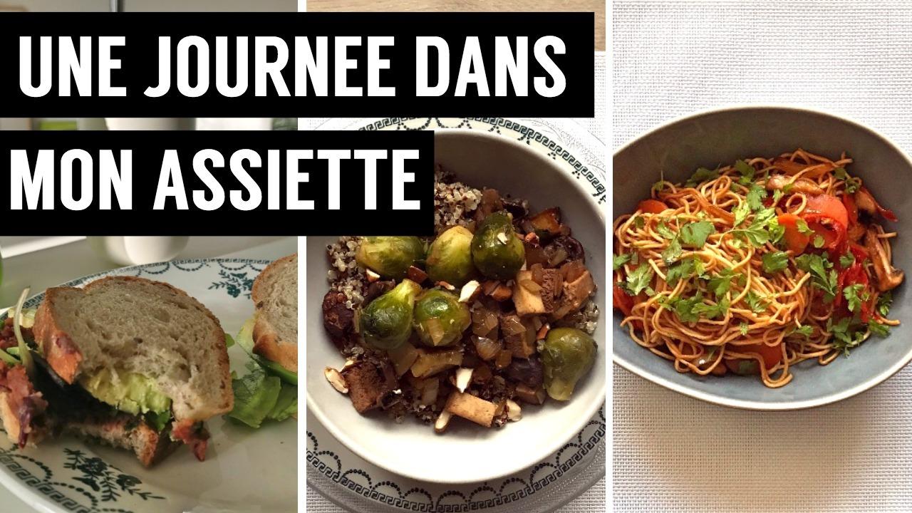 recettes végétariennes et vegan - atirelarigot - wok de legumes a l asiatique - une journée dans mon assiette 2