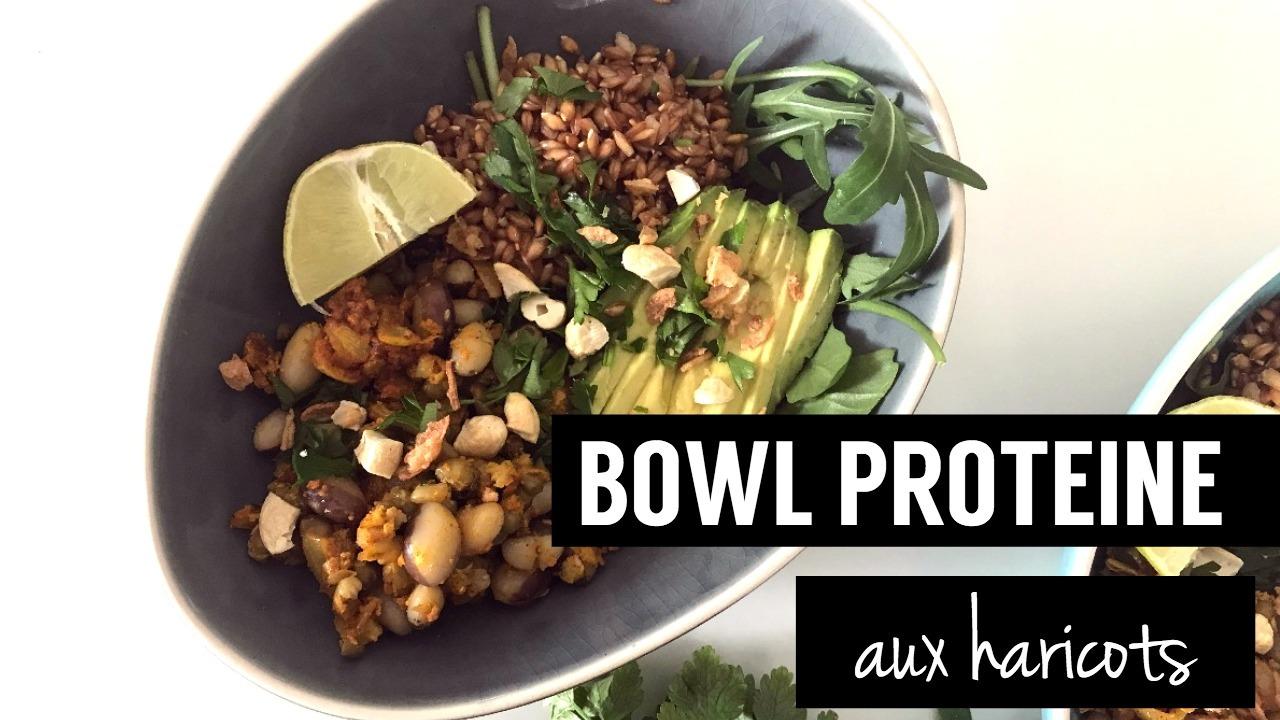 bowl protéiné - recettes végétariennes et vegan - atirelarigot