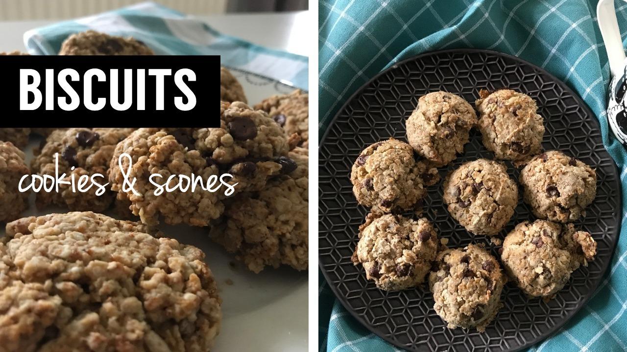 biscuits - cookies et scones vegan - - recettes végétariennes et vegan - atirelarigot