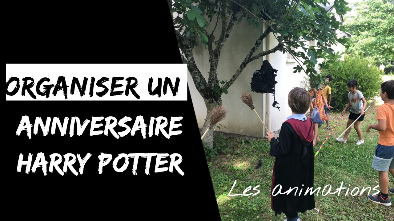 anniversaire harry potter - animations