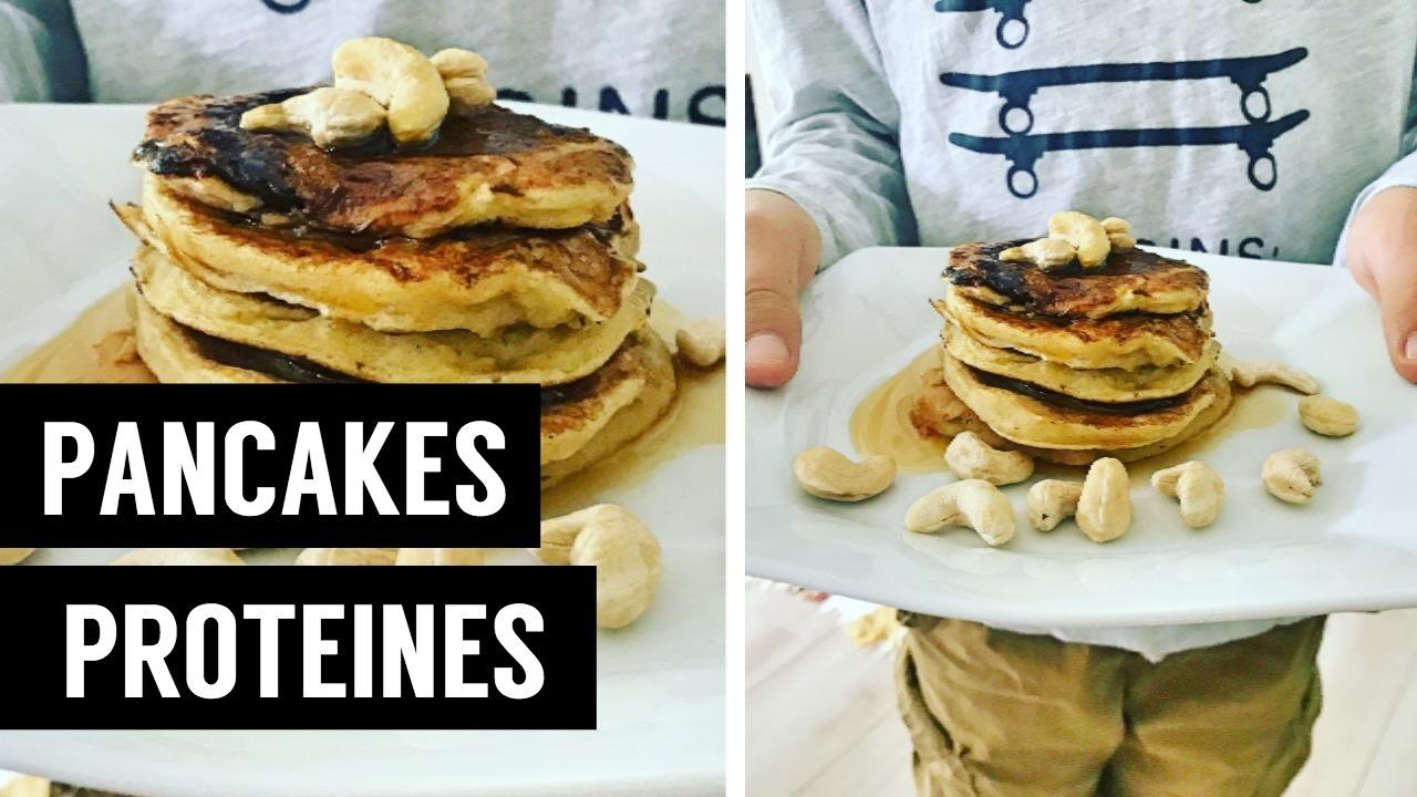 pancakes proteins - recettes végétariennes et vegan - atirelarigot