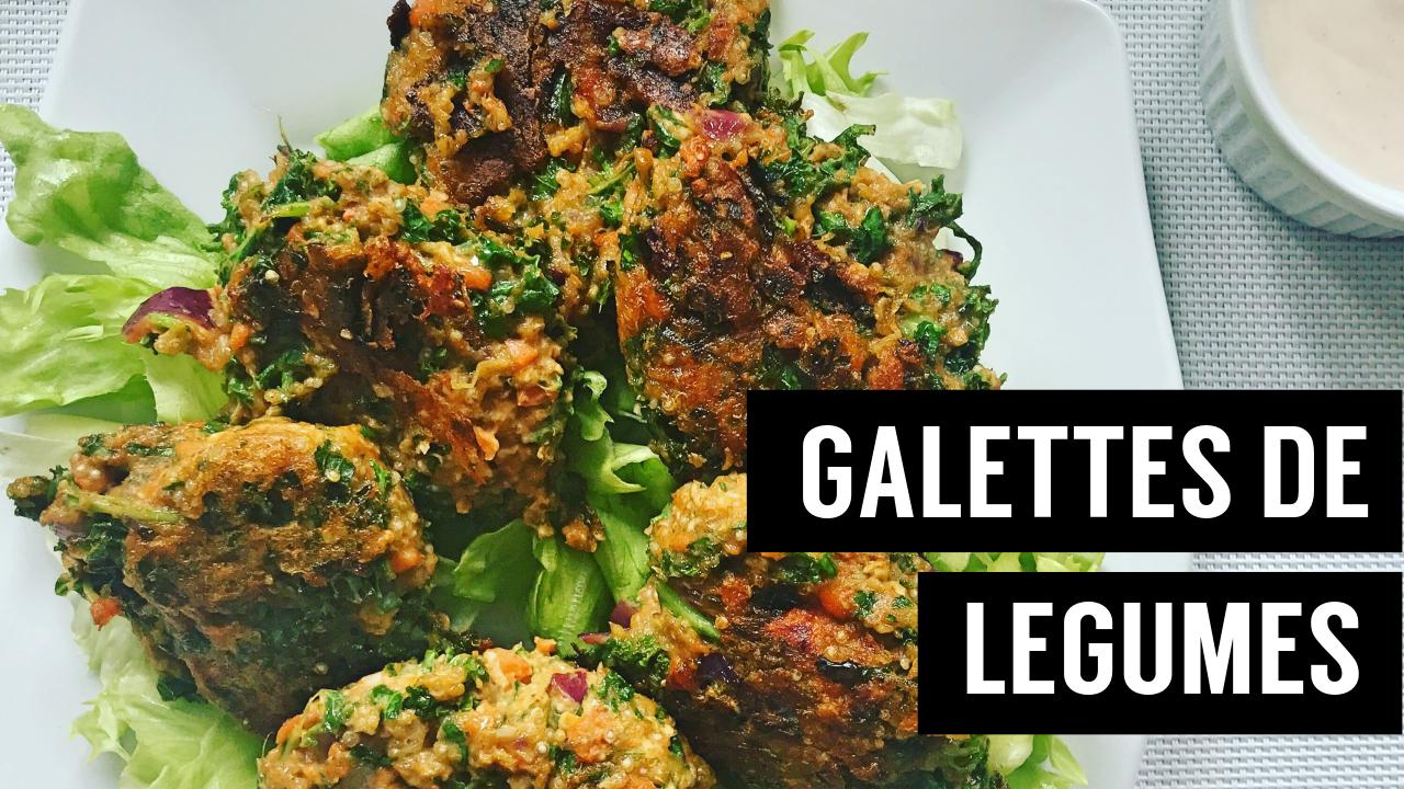 galettes de légumes - - recettes végétariennes et vegan - atirelarigot